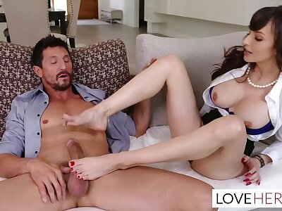 Lexi Luna Sexy Feet Therapy For Her Buyer Tommy Gunn