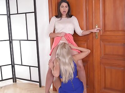Anal gratification be worthwhile for prat publicity devoted lesbians Zafira added to Cherry Hug