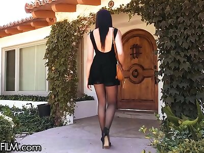 DevilsFilm Avi Cherish Buttfucked by BFFs Cheater Economize