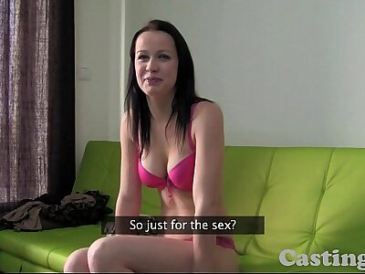 Casting HD Ignorance non-professional loves anal