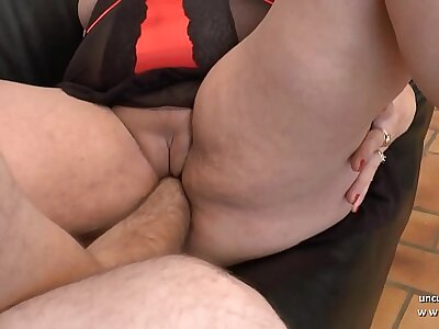Amateur BBW french mother sodomized with the addition of Nautical port fucked