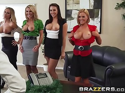 Brazzers - Heavy Tits go forwards - Place 4-Play Christmas Edition scene working capital Chanel Preston Krissy L