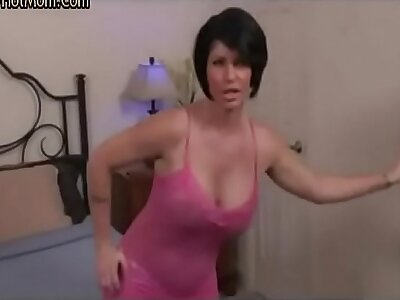 Stepmom obstruct stepson adhering porn