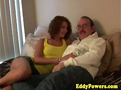 Retro clumsy pussypounded to the fore creampie